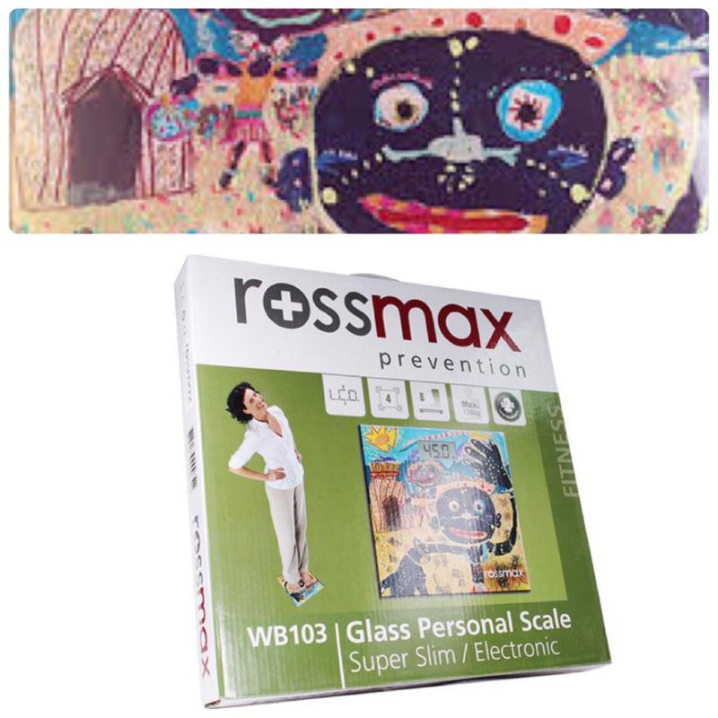 全新rossmax優盛超薄型體重計