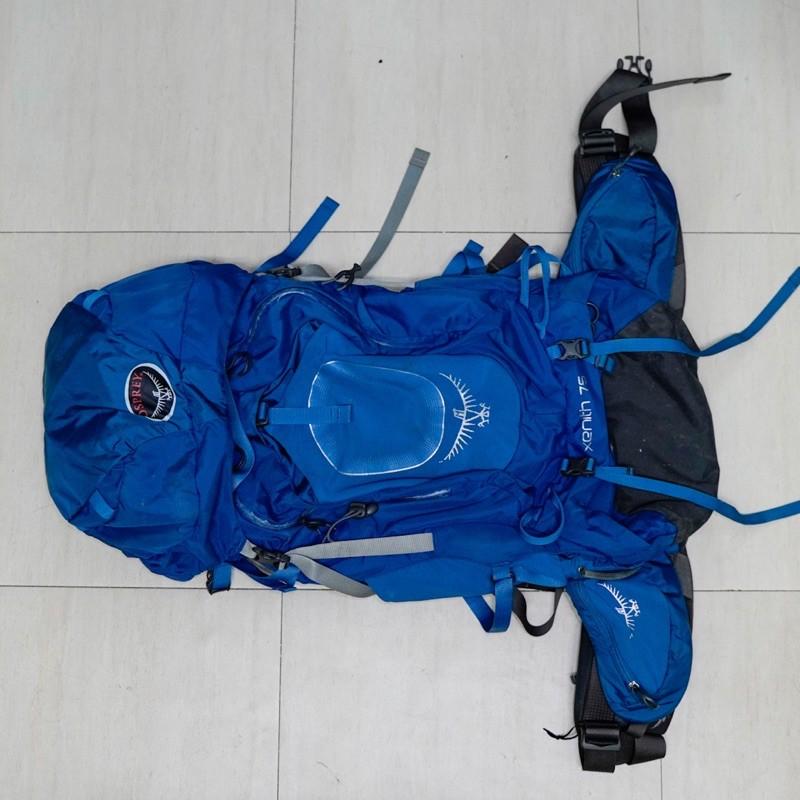 (二手可面交)OSPREY Senith 75L 登山背包(附贈防雨罩)
