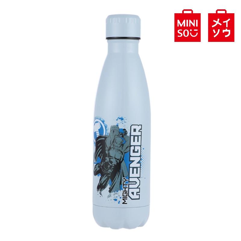 【MINISO名創優品】漫威復仇者聯盟系列 可樂瓶真空保溫杯500ml 雷神索爾