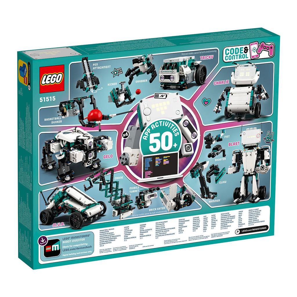 LEGO10月新品 LEGO 樂高 51515 MINDSTORMS頭腦風暴機器人發明家
