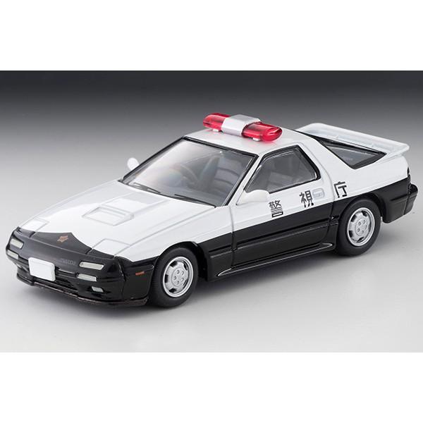 2020 11月Tomytec LV-N214a 馬自達Mazda Savanna 警車 巡邏車(警視庁) 現貨