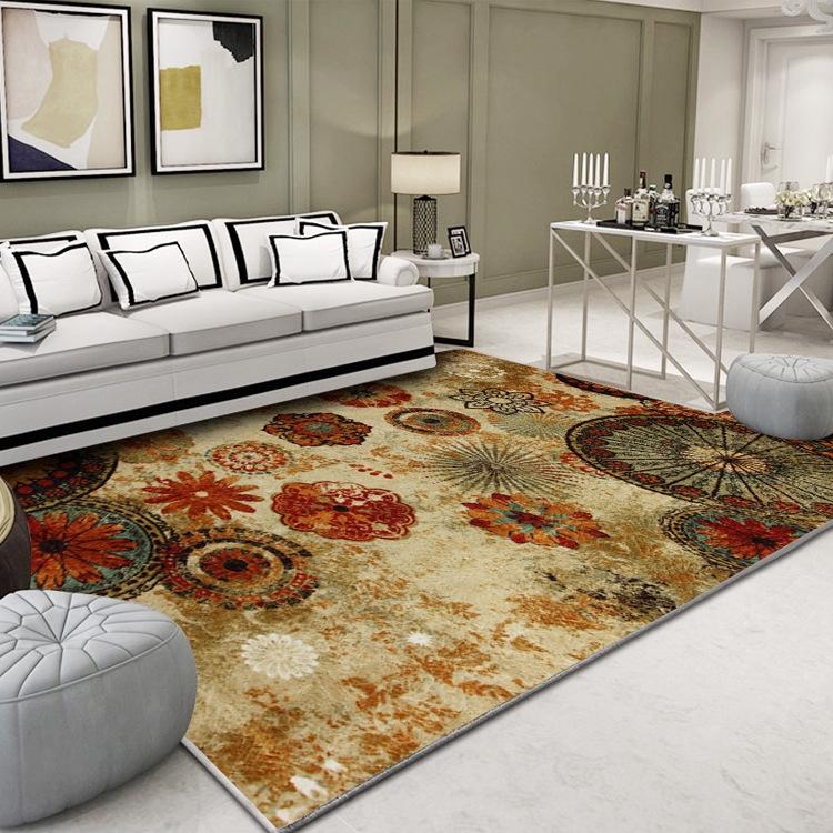 北歐簡約地墊 大呎寸 200*300 240*180 抽象藝術地毯 客廳 茶幾 卧室地毯 滿鋪床邊墊 家用地毯 長方形