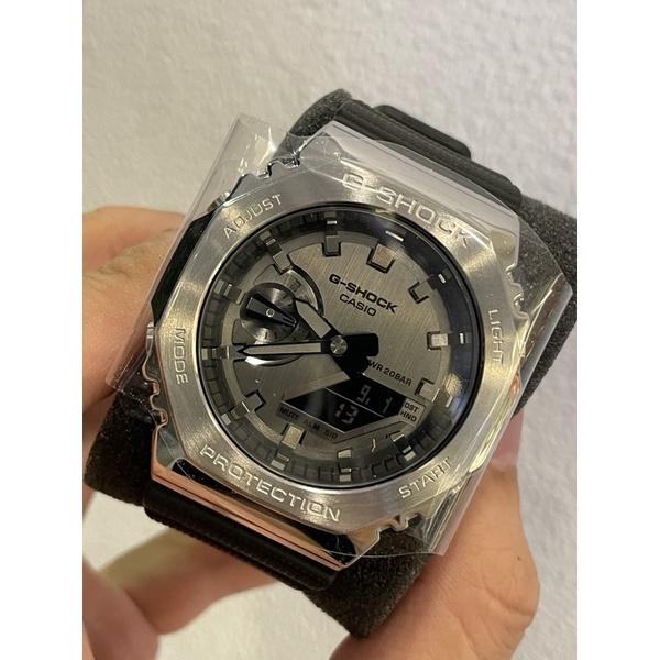 G-shock GM-2100-1a 八角金屬