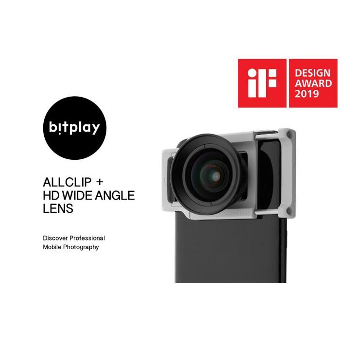 bitplay ALLCLIP 通用機身鏡頭夾+HD高階廣角鏡頭 適用蘋果及安卓手機前後鏡頭