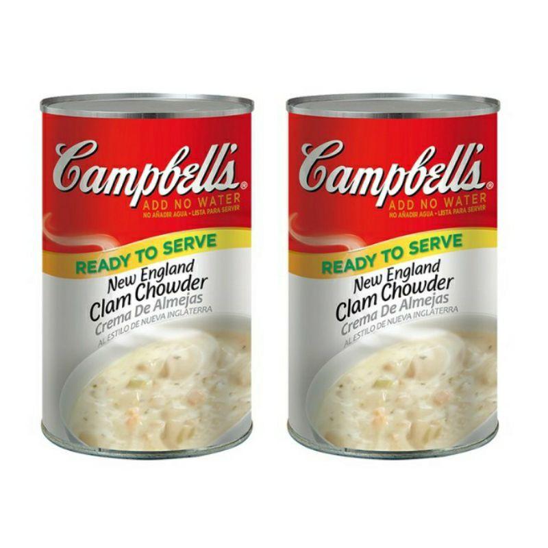 Campbell's 蛤蜊濃湯 好市多 1.41公斤