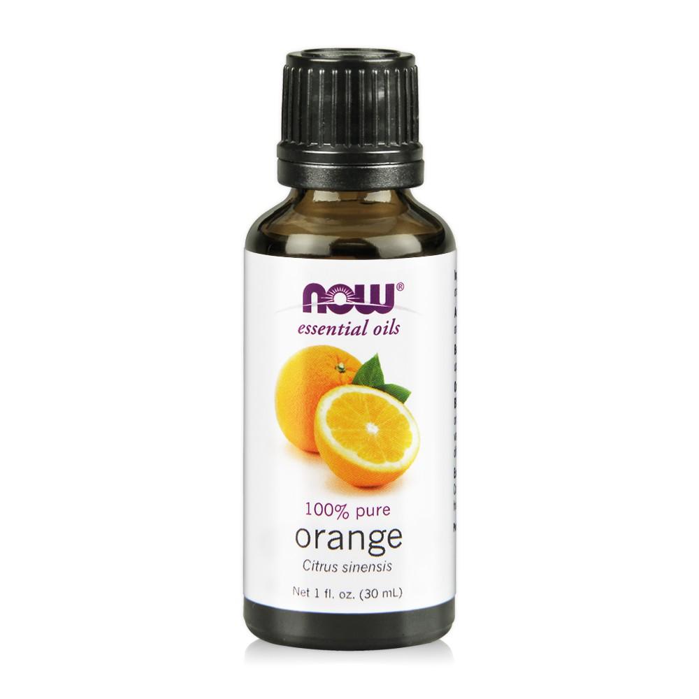 【NOW】Orange Oil 活力甜橙純精油(30 ml) Now foods/榮獲美國總統獎/美國原瓶原裝