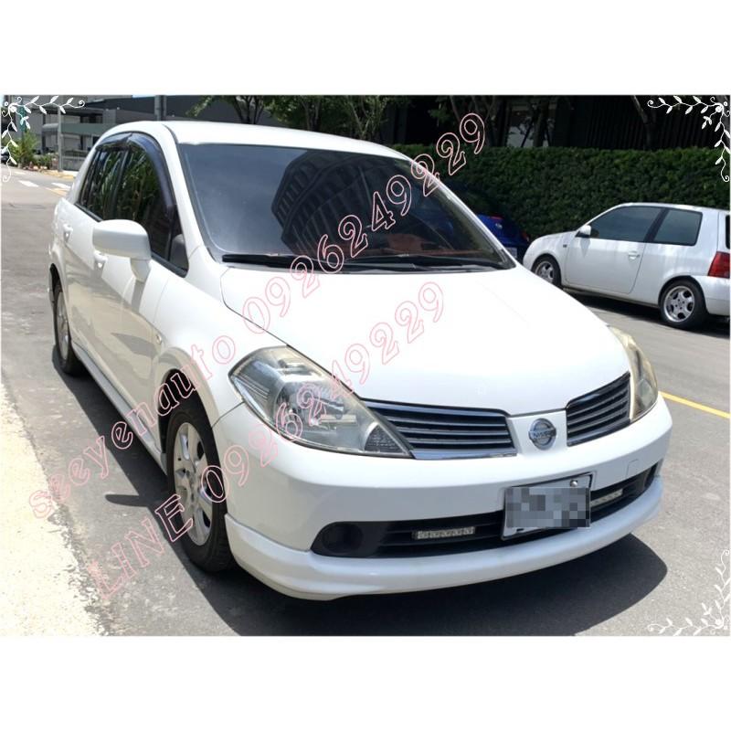 自售2011年7月/日產汽車Nissan TIIDA P 4d 1.6 白色中古車