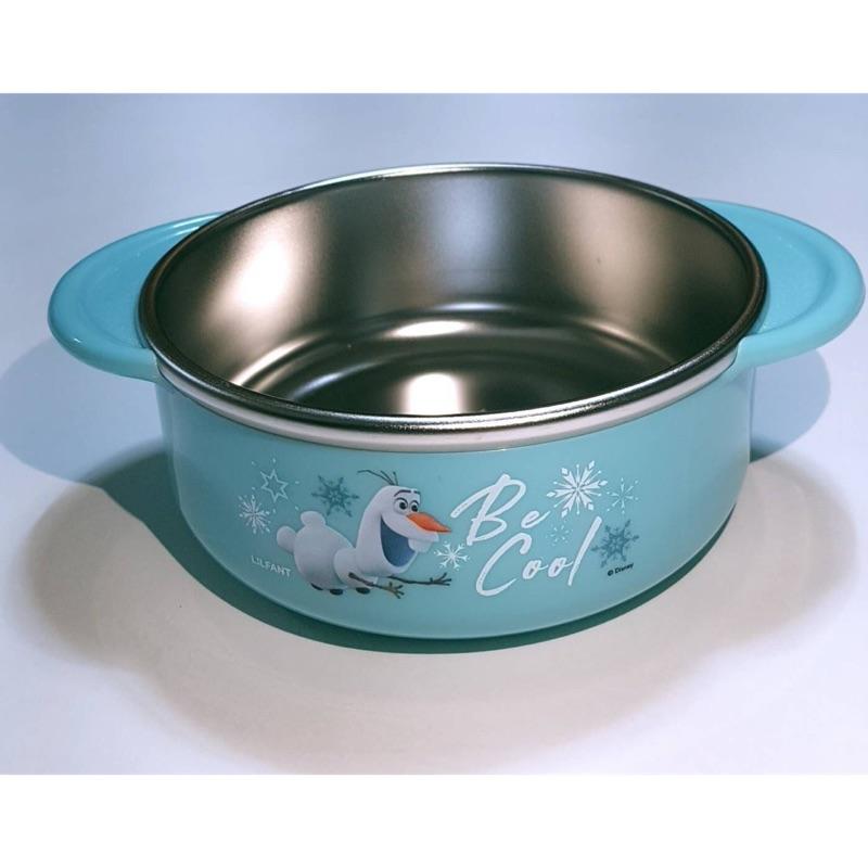*^O^*雙寶媽咪,正韓兒童餐具組「冰雪奇緣2」餐具組 ,冰雪奇緣2雪寶不銹鋼碗,正韓冰雪2 冰雪奇緣
