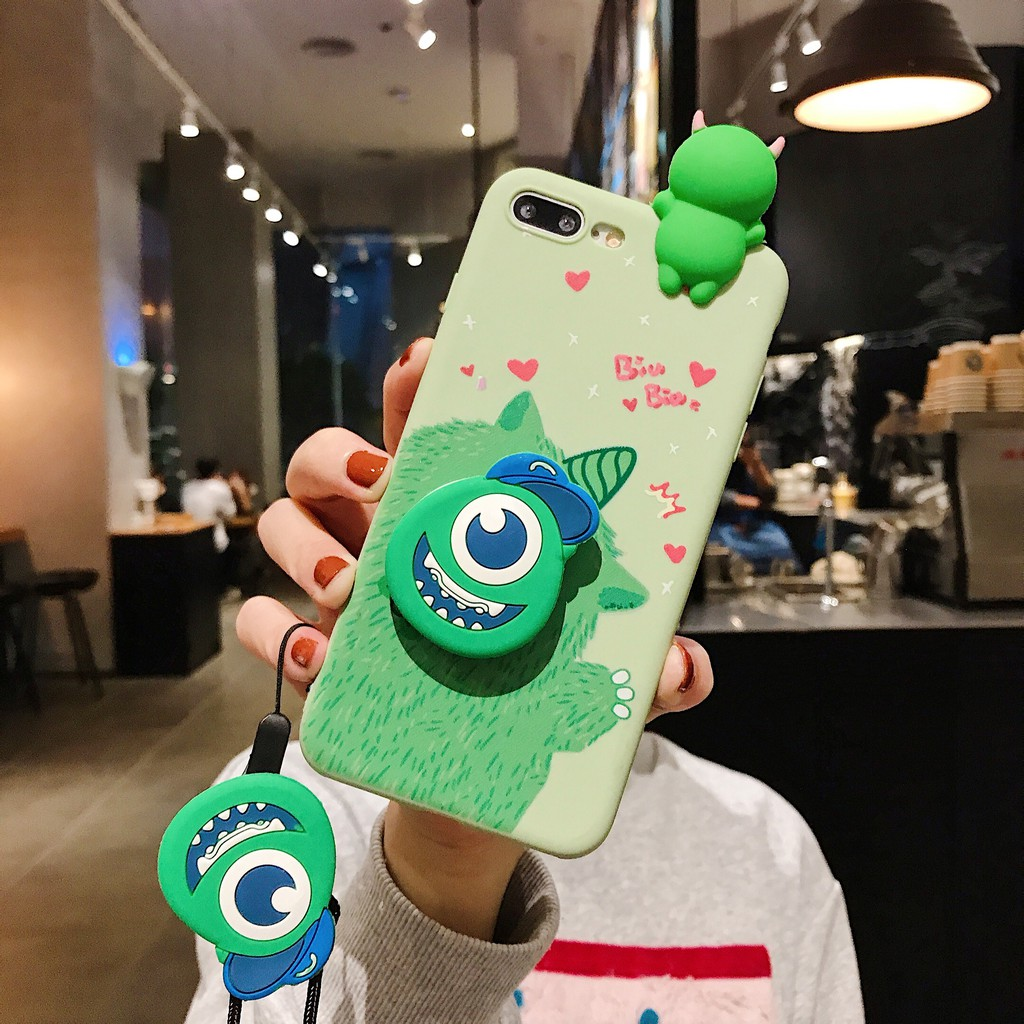 Iphone 11 Pro Max Summer & Monster Tpu 掛繩保護套, 適用於 Iphone Xr