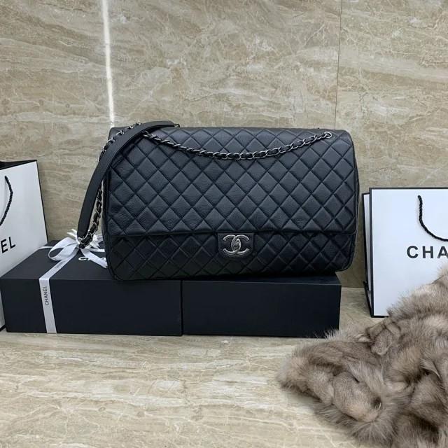 Chane1 小香2020新款經典時尚特大號旅行包 斜挎包 晚宴包 多功能女士包包 流行女包 時尚單肩包