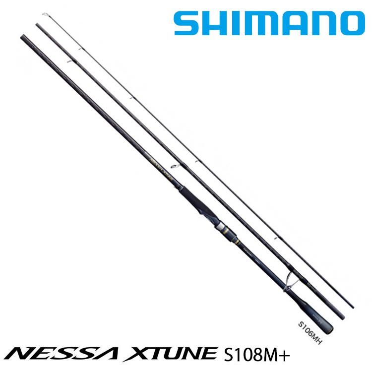 SHIMANO 20 NESSA XTUNE S108M+ [漁拓釣具] [岸拋路亞竿]