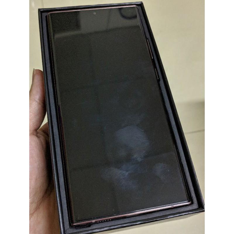 [售] 二手 三星 Samsung Note20 Ultra 金色 256g 台哥大保固中