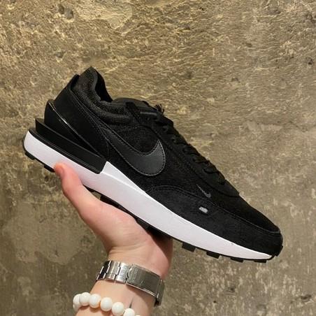 "【X-X】Nike Waffle One ""Sleek Black"" 黑 DA7995-001 運動鞋 男女鞋 現貨免運"