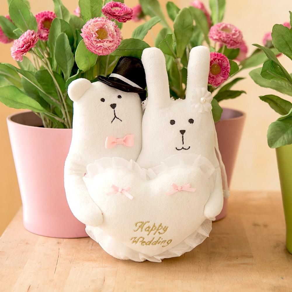 craftholic 宇宙人 婚禮 結婚對偶 玩偶 白熊 兔兔 婚禮布置 結婚禮物
