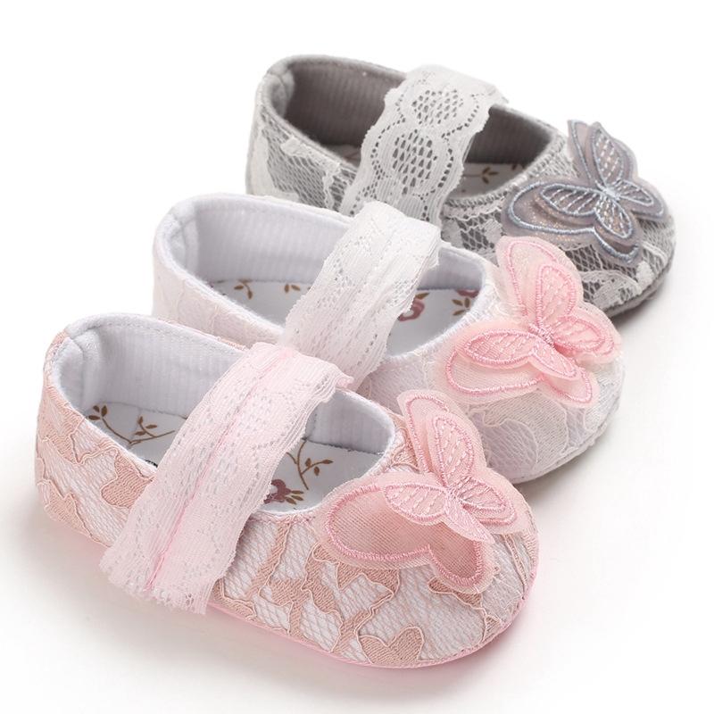 春秋0-1歲女寶寶公主鞋軟底嬰兒學步鞋
