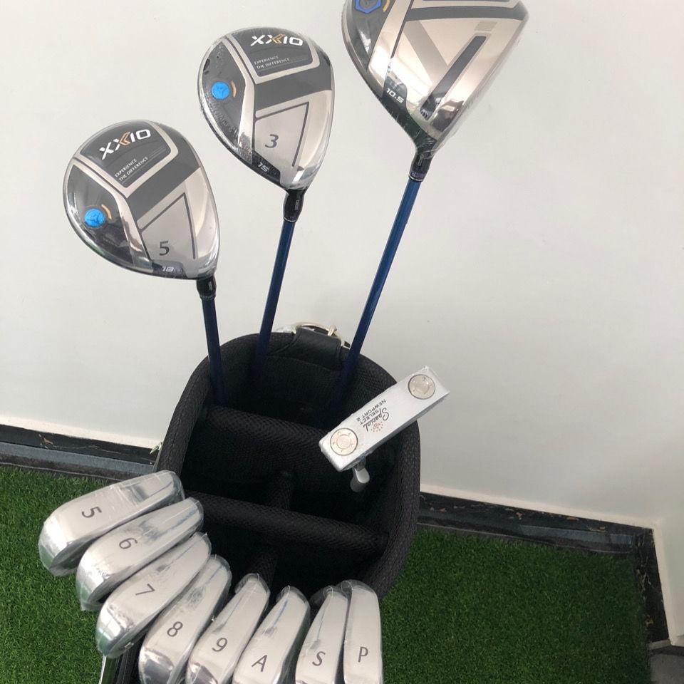 ESPN體育高爾夫球桿 XXIO XX10 MP1100 高爾夫球桿套桿 男士碳素鋼桿全套