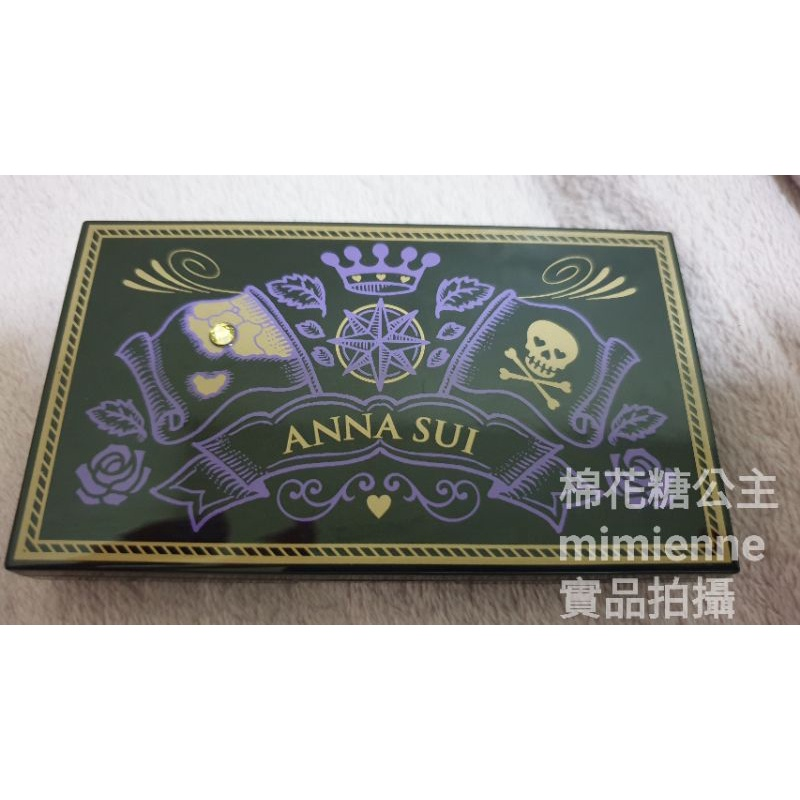 (二手👉空盒👈) ANNA SUI 神祕奇航眼唇寶盒空盒/安娜蘇/annasui/安娜蘇化妝鏡/化妝鏡/化妝盒/眼影空盤