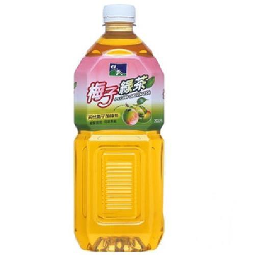 悅氏 梅子綠茶(2000ml/瓶)[大買家]