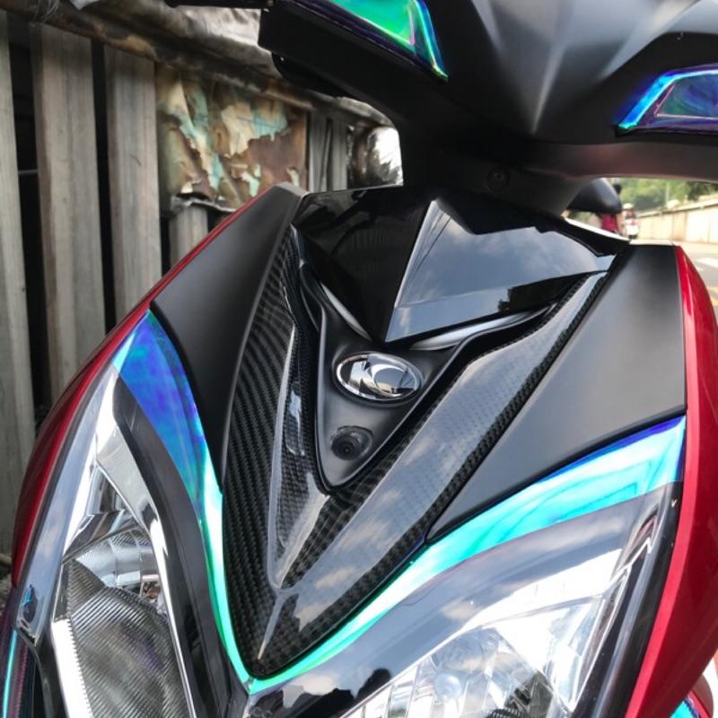 ⚡️薩克曼二輪⚡️雷霆S 150 卡夢 大盾 大V領 貼片 正碳纖維 開模製造 皆含背膠 正日本3K纖維 雷霆s150