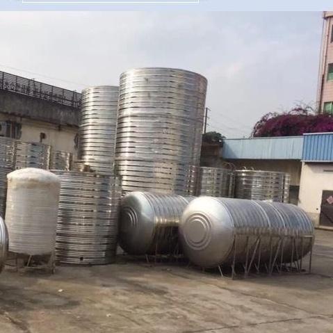 ❤️❤️【大容量 結實 耐用】304不銹鋼水箱家用儲水罐蓄水桶屋頂太陽能空氣能水塔1噸-10噸