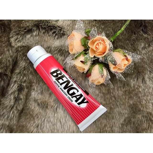 【現貨】美國原裝嬌生 BENGAY Ultra Strength 奔肌超強度 外用乳膏 113克