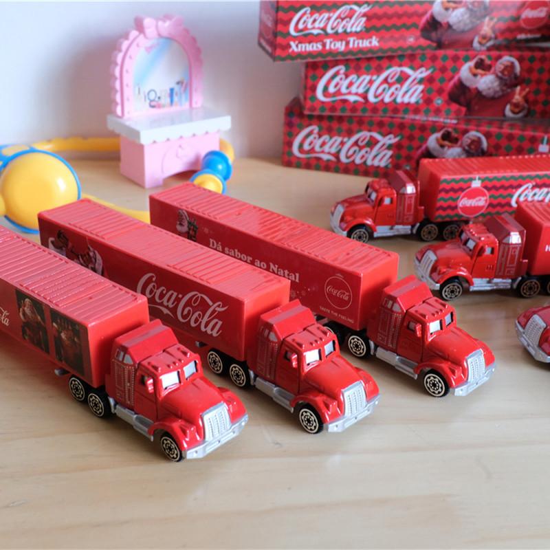 MIHMMAMA外貿歐美訂單 可口可樂冬日雪景聖誕禮車模型玩具車 禮品,節日禮物,仿真車