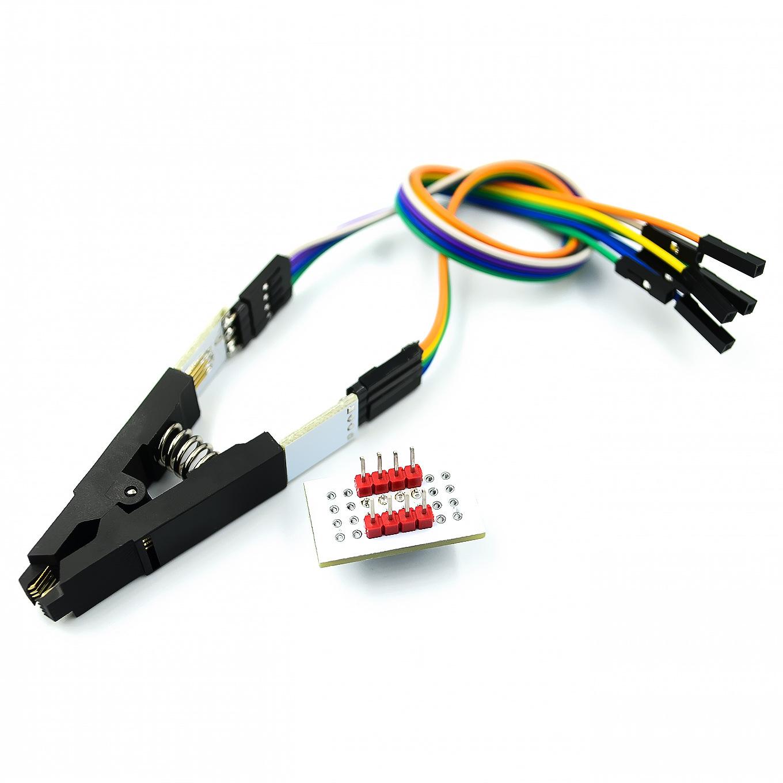 【燒錄器】新款SOP8 SOP16測試燒錄夾 BIOS燒錄夾 直插燒錄座免拆測試夾