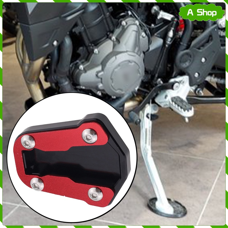 1PCS CNC鋁摩托車對抗側支架伸展拆組拆裝墊用於本田CRF300L CRF300 RALY 2021-2022