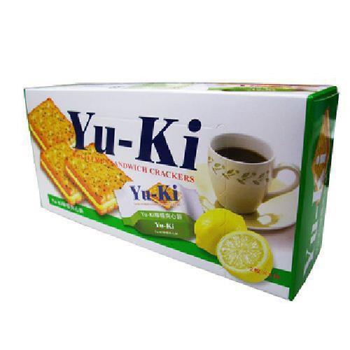 Yu-ki 檸檬夾心餅(150g/盒)[大買家]