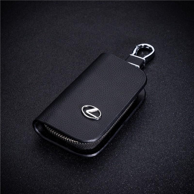 牛皮汽車鑰匙包雷克薩斯車標lexus rx is250 ES200250 GS IS300 ES200t汽车鑰匙皮套鑰匙