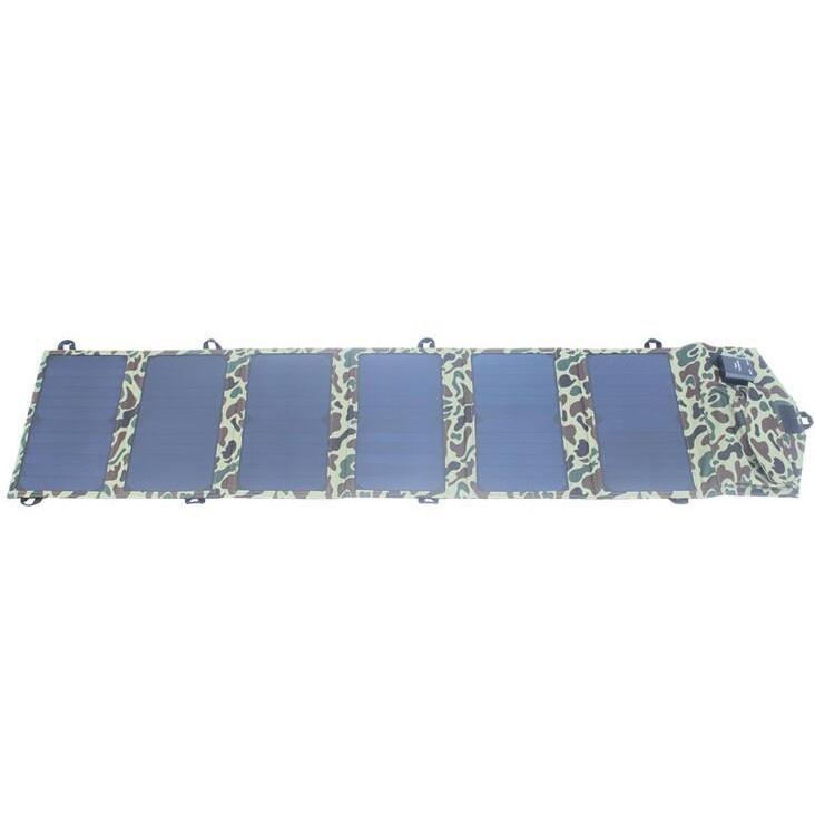 SUNPOWER太陽能電池板組件 供應40W太陽能電池板折疊包 行動電源 登山騎行充電7021
