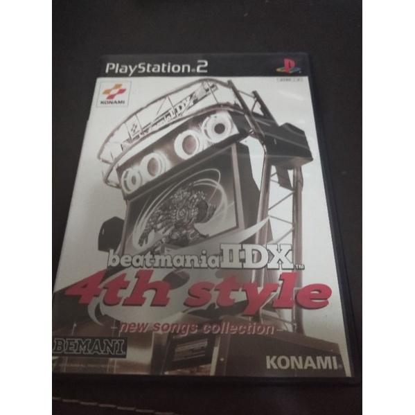 ps2遊戲光碟 beatmania Ⅱdx 4th style