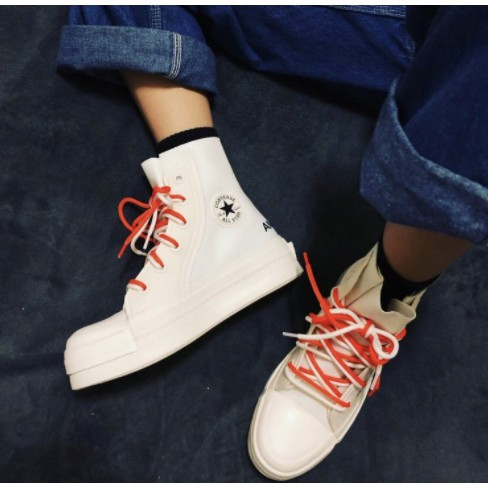 CONVERSE X AMBUSH 全白CHUCK 70 HI 女鞋 166516C 限量 男鞋 高筒