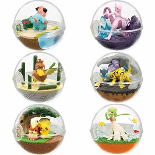 【高性價比手辦】動漫 6款8代精靈球沙奈朵 小小象 雷公 大蔥鴨 超夢 卡蒂狗 盒蛋
