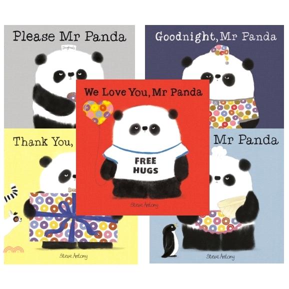 Mr Panda (5本平裝本)【三民網路書店】[32折]