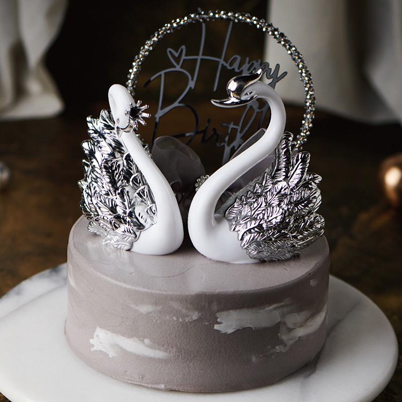 【PATIO 帕堤歐】奢華天鵝 生日蛋糕 巧克力蛋糕 造型蛋糕 卡通造型蛋糕 生日蛋糕  禮物 情人節 紀念日