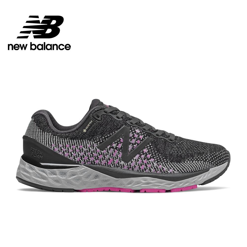 【New Balance】輕量跑鞋_女性_鐵灰_W880GX10-D楦(GORE-TEX防潑水)