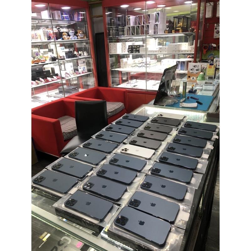 99%新 IPHONE 12 Pro Max 256 256G 256GB 可刷卡分期 可無卡分期 舊機可抵 123