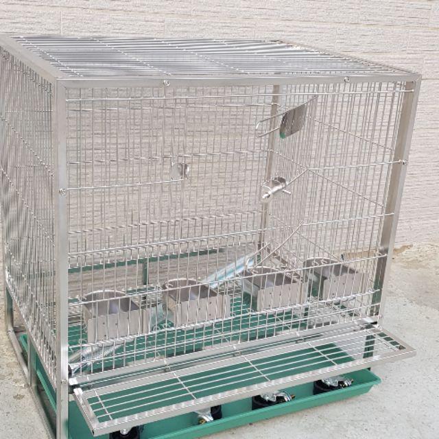 2尺×1.5尺304不鏽鋼鳥籠全配