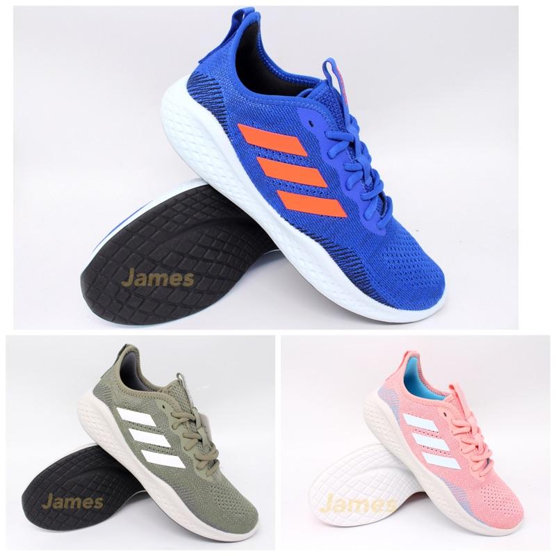 【詹姆士的店】愛迪達 慢跑鞋 跑步鞋 運動鞋 FLUIDFLOW EG3670