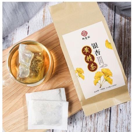 買2送1買3送2買5送3銀杏黃精茶150g 白果茶 健康養生茶 獨立小袋包裝茶 口感好