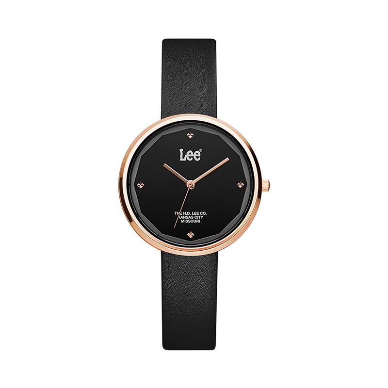 LUUD原創館  Lee手錶女細帶小錶盤簡約潮流小眾ins風手錶皮帶款女學生手錶F297