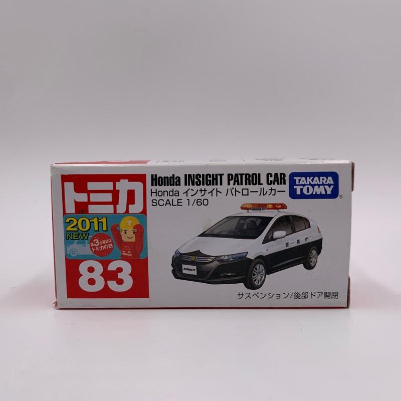 Tomica No.83 Honda INSIGHT PATROL CAR