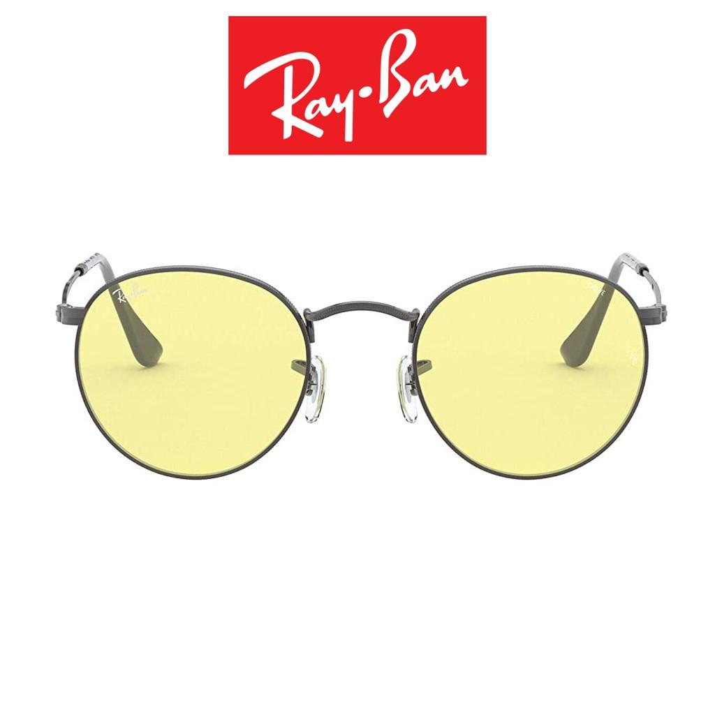 Ray Ban 雷朋 太陽眼鏡 RB3447 004/T4 (鐵灰) EVOLVE 淡黃變色鏡片 直營公司貨【原作眼鏡】