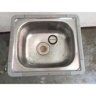 【吉林二手貨B0800001】單口水槽/ 流理臺 桃園市