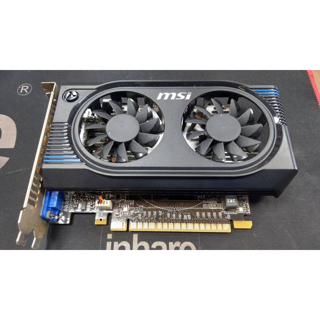 [羊咩咩3C] 二手/微星MSI N640GT-MD2GD3/OC nVidia GT640 2G-DDR3/非華碩技嘉