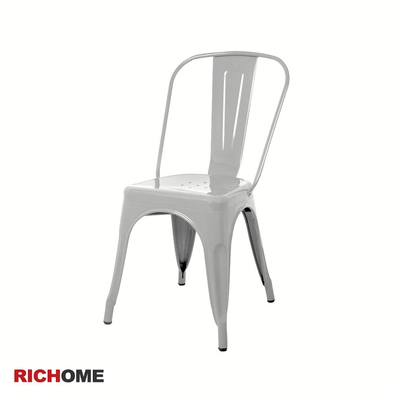 RICHOME   CH988  亞瓦工業美學休閒椅-2色   休閒椅   鐵製餐椅 工業風  復古風  等候椅  餐廳