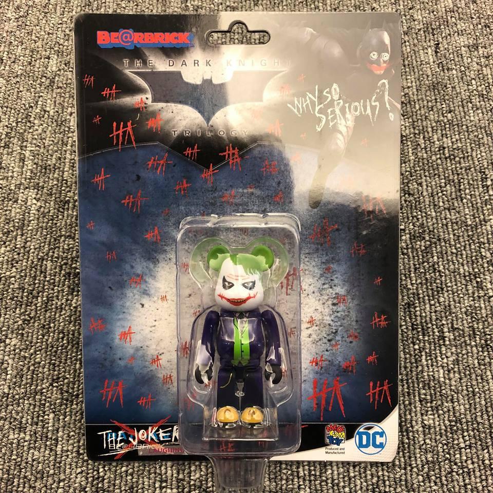 BEETLE BE@RBRICK 黑暗騎士希斯·萊傑 小丑 JOKER BATMAN 庫柏力克熊 蝙蝠俠 100%