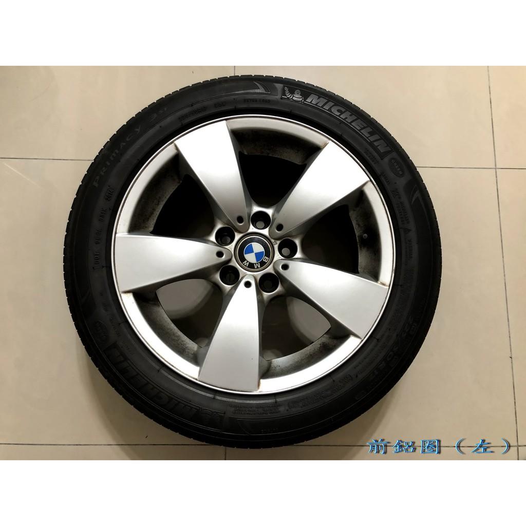 BMW E60 原廠17吋鋁圈4顆+米其林3ST 225/50輪胎4顆(不單賣)(限自取)