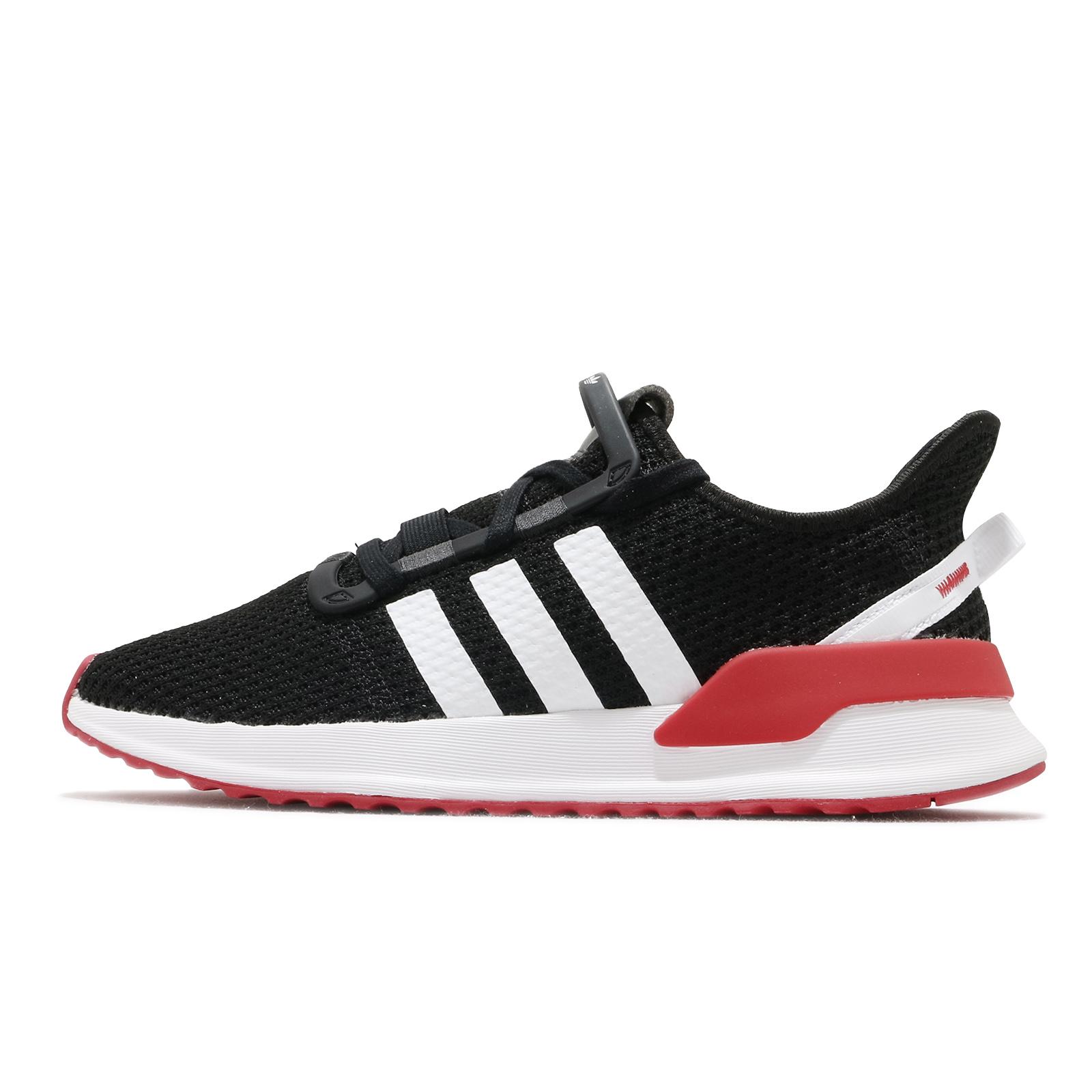 adidas 休閒鞋 U_Path Run 黑 白 紅 愛迪達 運動鞋 三葉草 男鞋 女鞋 【ACS】 FX0102